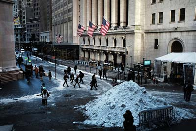 In New York City, Jobs Come Back Without Wall Street